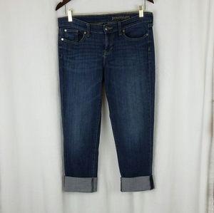 Gap Women's Premium Straight Cuffed Crop Jeans